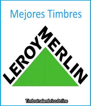 timbre inalambrico leroy merlin